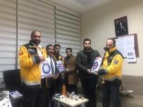 Sağlık-Sen Şırnak Şubesi Yöneticilerinden 112 İstasyonları Ve Komuta Merkezine Ziyaret