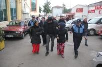 KİMLİK TESPİTİ - Samsun'da Yabancı Uyruklu Dilenci Operasyonu