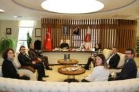 TSE Nevşehir İl Müdürü Güneş Rektör Bağlı'yı Ziyaret Etti