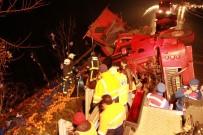 Yalova'da Portakal Kamyonu Devrildi Açıklaması 1 Ölü