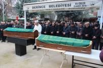 Yılbaşı Gecesi Pompalı Tüfekle Öldürülen 2 Kardeş Toprağa Verildi