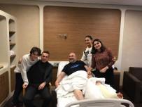 GEÇMİŞ OLSUN - Ali Koç'tan Mustafa Bozbağ'a Geçmiş Olsun Ziyareti