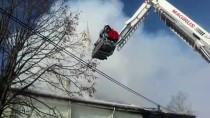 Bolu'da Köy Camisinde Çıkan Yangın Söndürüldü