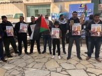 Filistinliler, 37 Yıldır İsrail Hapishanesinde Yatan Kerim Yunus İçin Gösteri Yaptı