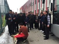 Giresunspor Maçı Öncesi Kurban Kesildi
