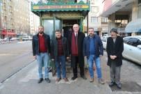 KAZıM KURT - Kazım Kurt Taksicileri Ziyaret Etti