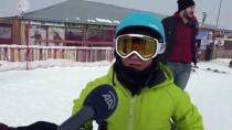 ÖĞRENCİLER - Küpkıran Kayak Merkezi'nde Sömestir Yoğunluğu