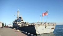 GÜRCISTAN - ABD Savaş Gemisi Batum'a Demir Attı