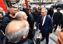 Aday Adaylığını Açıklamıştı, Başkan Kocaoğlu Ziyaret Turu Yaptı