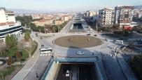 ALPARSLAN TÜRKEŞ - Alparslan Türkeş Kavşağı Drone İle Görüntülendi