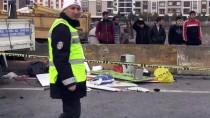 GÖZYAŞı - Aydın'da Kamyonet Beton Bariyere Çarptı Açıklaması 1 Ölü, 3 Yaralı