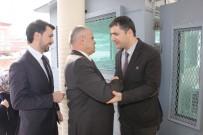 ALLAH - Başkan Öztürk Emniyet Ve SGK'yı Ziyaret Etti