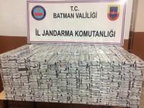 SIGARA - Batman'da 4 Bin Paket Kaçak Sigara Ele Geçirildi