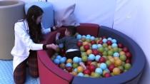 TIRMANMA DUVARI - Çocuklar Eğlenirken Tedavi Ediliyor