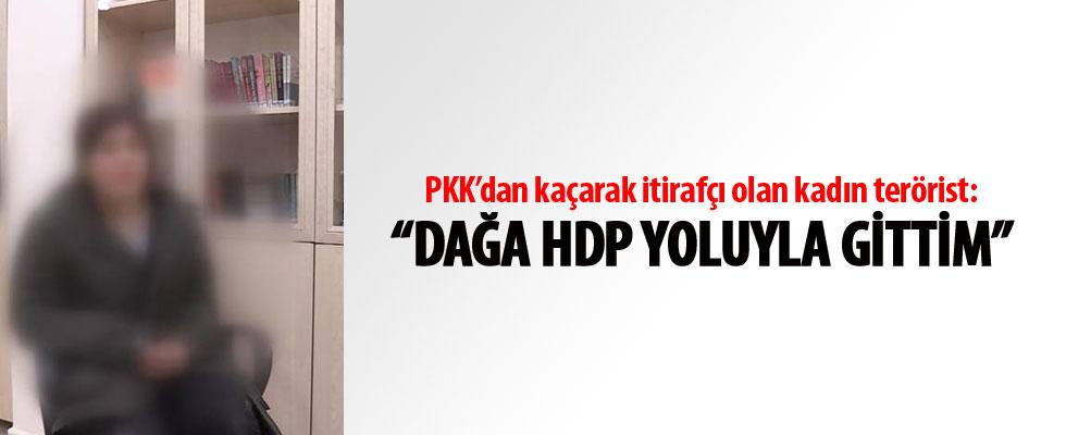 PKK itirafçısı kadın: Dağa HDP yoluyla gittim