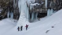 ÖĞRETIM GÖREVLISI - Erek Dağı'nın Sütun Şelalesi Eşsiz Görüntüsüyle Büyülüyor