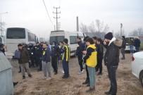 Fenerbahçe Taraftarı Bursa Girişinde Didik Didik Arandı