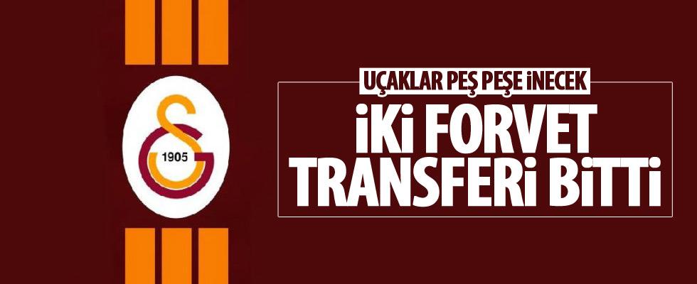 Galatasaray'dan iki forvet transferi