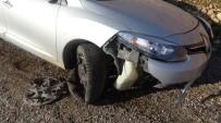 Gercüş'te Trafik Kazası Açıklaması 2 Yaralı