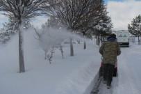 ALLAH - İncesu'da Kar Mesaisi Devam Ediyor