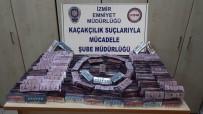 KAÇAK - İzmir'de 17 Bin 400 Kaçak Hap Ele Geçirildi