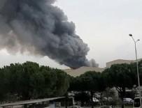 İzmir'de korkutan yangın! Kilometrelerce uzaktan görülüyor...