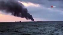 TANZANYA - Kerç Boğazı'nda İki Gemide Yangın