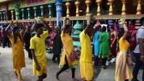 KUALA LUMPUR - Malezya'da Hindular Thaipusam Bayramını Kutladı