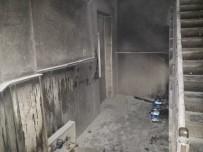 POLİS - (Özel) Bina Yanarken İçeri Giren Hırsızlar 2 Tablet Çaldı