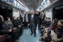 AVRUPA - TBMM Başkanı Yıldırım, Marmaray İle Yolculuk Yaptı