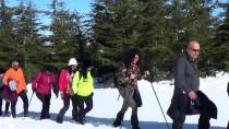 Toroslar'ın Zirvesinde Kar Yürüyüşü