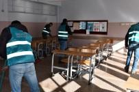Tunceli'de Hükümlüler, Okullarda Çocuklar İçin Çalışmaya Başladı