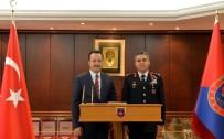 TUGAY KOMUTANI - Vali Şentürk'ten Tugay Komutanlığı'na Ziyaret