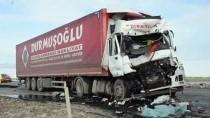 Yozgat'ta Tırın Çarptığı İşçi Hayatını Kaybetti