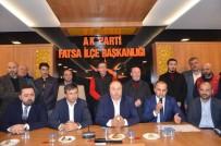 AK Parti Fatsa'da İstişare Toplantısı