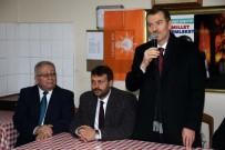 AK Parti Zeytinburnu Adayı Arısoy, Kağıt Fabrikası Çalışanlarıyla Bir Araya Geldi