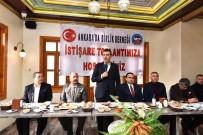 Ankara' Da Birlik Derneğinden Cumhur İttifakı'na Destek