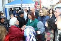 Başkan Çerçioğlu, Efeler Salı Pazarı'nı Ziyaret Etti
