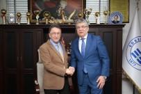 Belediye Başkan Adayı Arslan, Belediye Başkanı Saka'yı Ziyaret Etti