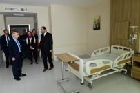 Çınar, Hasan Çalık Devlet Hastanesini Ziyaret Etti