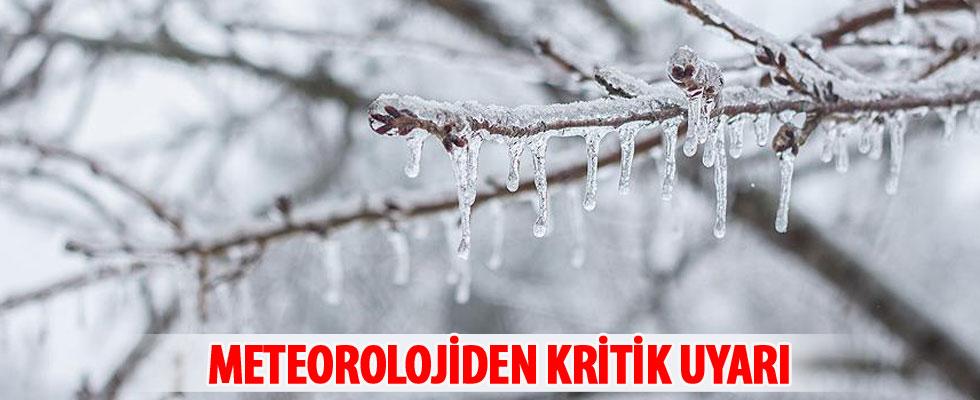 Meteoroloji 4 il için buzlanma ve çığ uyarısı yaptı