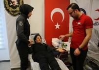 Emniyet Güçleri Türk Kızılayı'na Kan Bağışladı