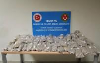 Kapıkule'de Uyuşturucu Tacirlerine Ağır Darbe Açıklaması '21 Milyon TL Değerinde Eroin'