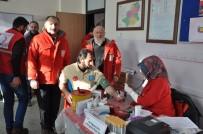 Kars'ta Kızılay'ın Kan Bağışı Kampanyasına Yoğun İlgi