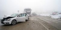 Kastamonu'da 7 Araç Birbirine Girdi Açıklaması 9 Kişi Yaralandı