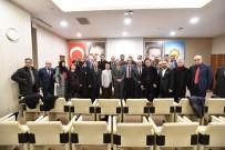 BAKANLIK - Medya STK'larından Mehmet Özhaseki'ye  Ziyaret