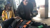 Montajını Yaptığı Asansörle Birlikte Aşağı Düşen İşçi Yaralandı