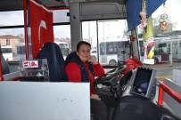(Özel) Bandırma'nın İlk Ve Tek Kadın Otobüs Şoförü