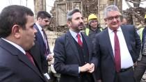 Tarihi Tuz Hanı'nda Restorasyon Çalışmaları Başladı