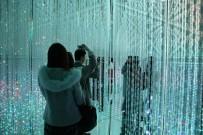 Tokyo'daki Dijital Sanat Müzesinde Görsel Şölen